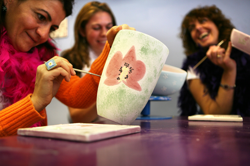 Adult Pottery Painting